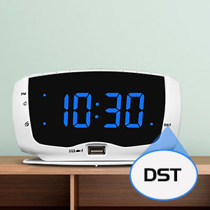 radio clocks with DST