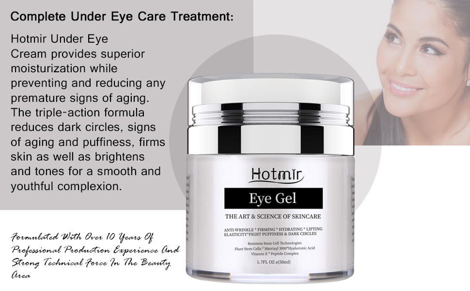 This eye gel is the complete eye treatment