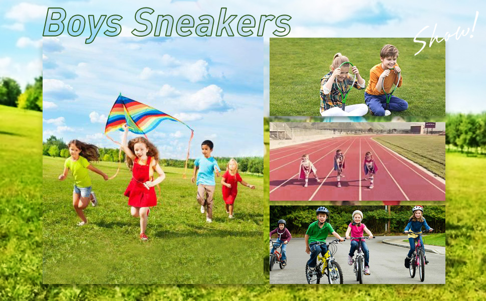 Boys running shoes kids sneakers girls mesh fitness shoe indoor outdoor sport shoes breathable