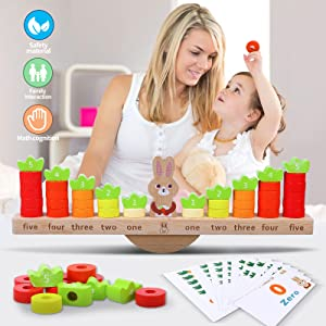 counting wooden toy