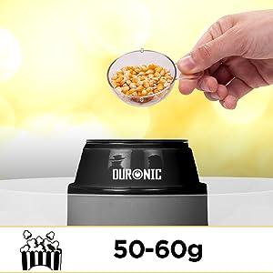 Macchina per popcorn senza caloria aria dolce salati macchina elettrica elettrica professionale