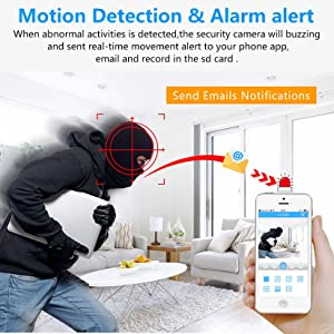 wifi camera for home outdoor, 360 1080p wifi smart security camera,home security camera,