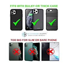 Phone holster for thick case