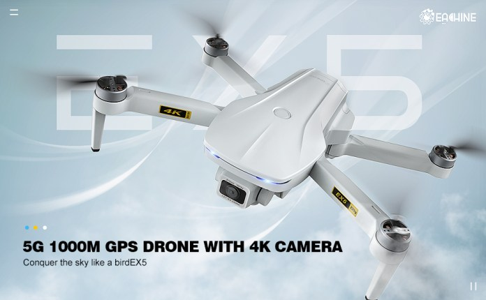EX5 Drone with camera