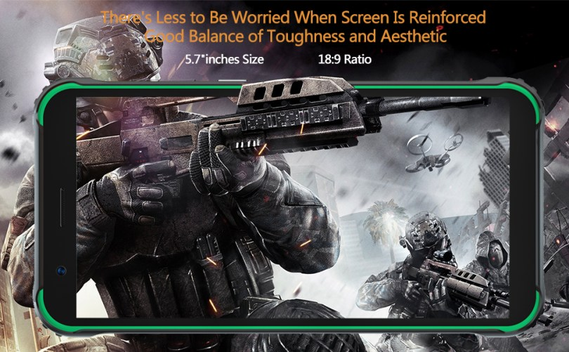 5.7 inch screen