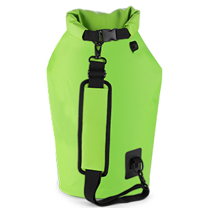 shoulder strap robust fitting padded comfortable rolltop roll-top hands-free convenient soft bag