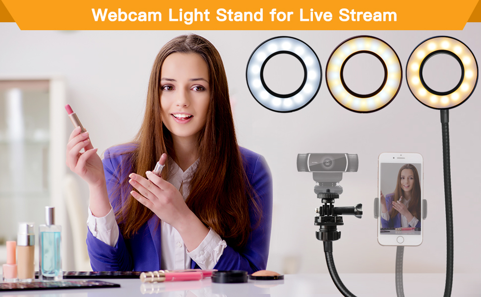 Webcam Light Stand