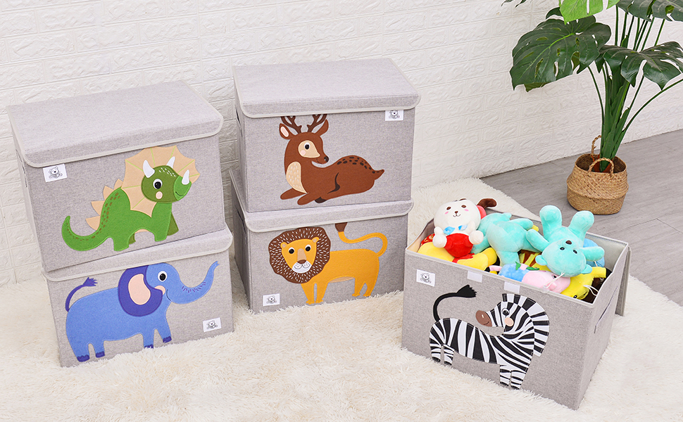 storage toy chest for kids cube organizer