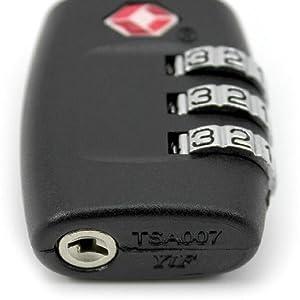 Baggage lock number
