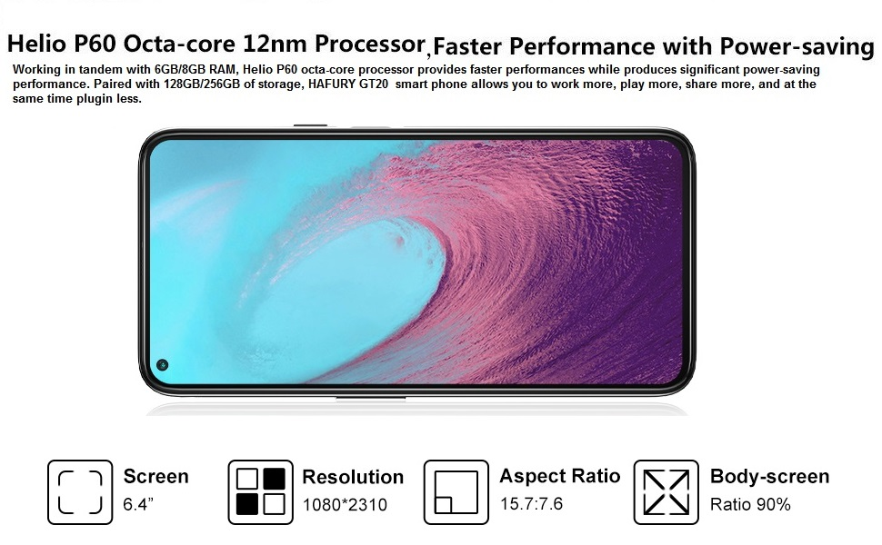 hafury smartphones 4ram 64gb sim free dual sim phone green 128gb android cell phones unlocked