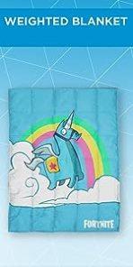 Fortnite unicorn Weighted Blanket