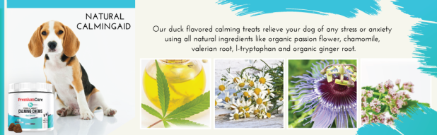 natural calming treats for dogs made in usa