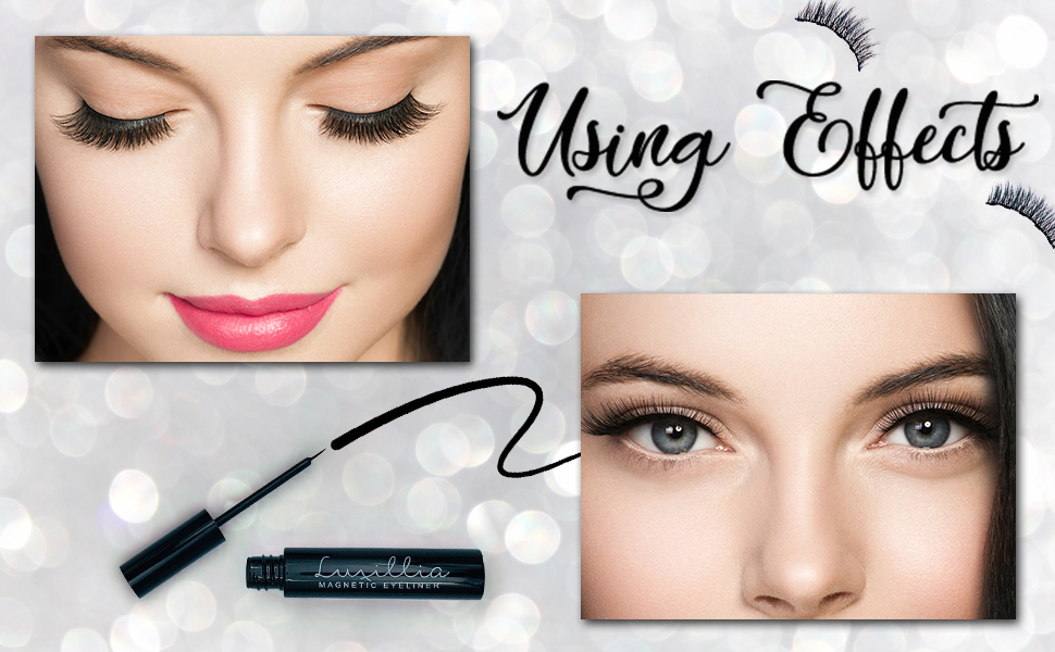 Magnetic Eyelashes and liner Magnet Eyelashes Magnetic eyelashes natural look magnetic eye lashes
