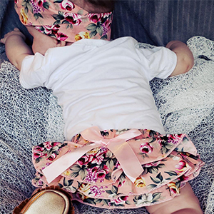Infant Baby Girl Clothes Daddy's Girl Letter Print Romper Floral Bloomers with Headband