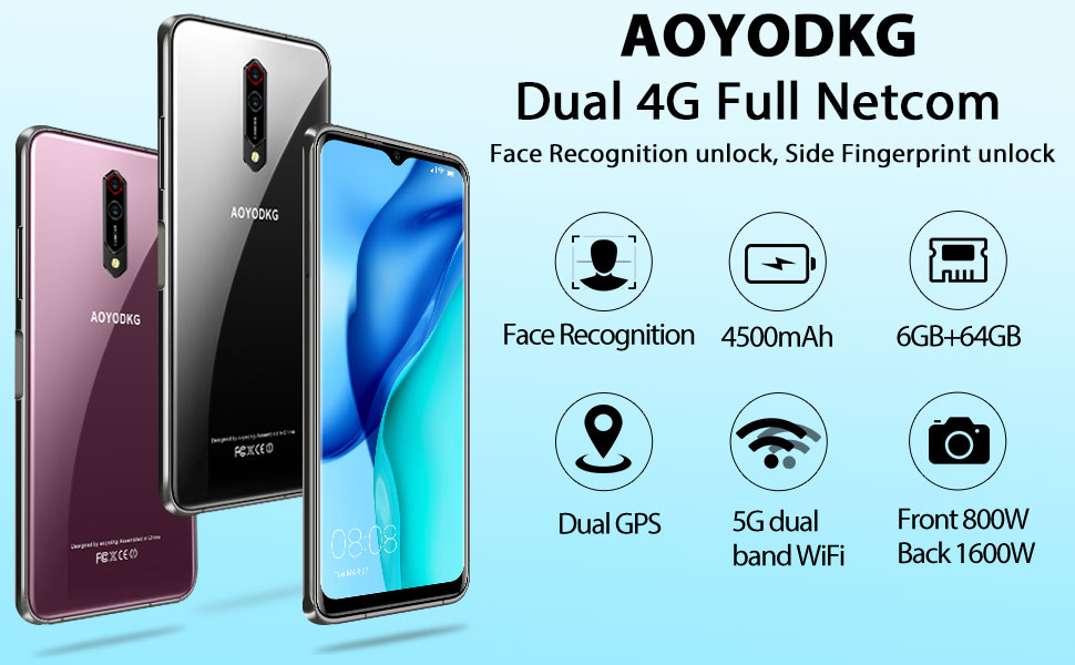 Android Note 9S 6.5 inch Unlocked Smartphone