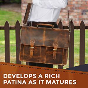 Leather Full Flap Messenger Handmade Bag Satchel Messenger Bag School Brown men women girls