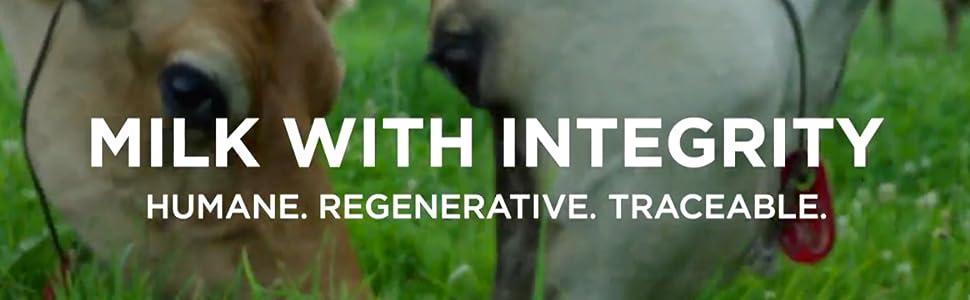 Organic milk, integrity, healthy,  dairy