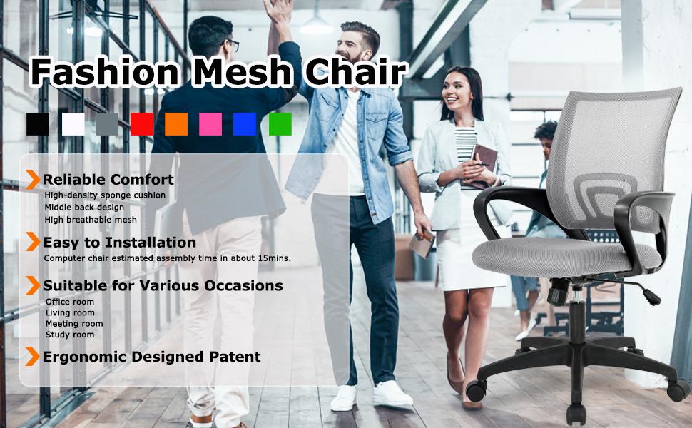 Home Office Chair Ergonomic Desk Chair3
