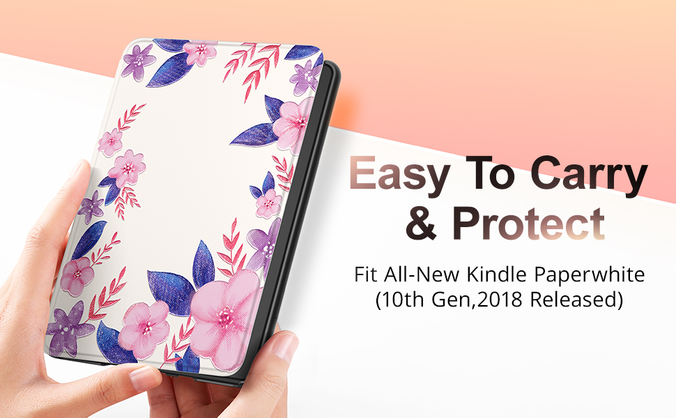 GVIEWIN All-New Kindle Paperwhite 10th Generation 2018 Case