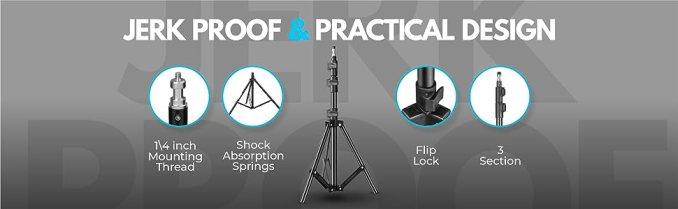 digitek, camera stand, ring light stand, camera accessories, shoting stand, camera tripod