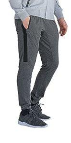 SCR SPORTSWEAR Men's 33/36 Inseam Striped Jogger Pants,Cuffed Sweatpants Training,Workout Pants