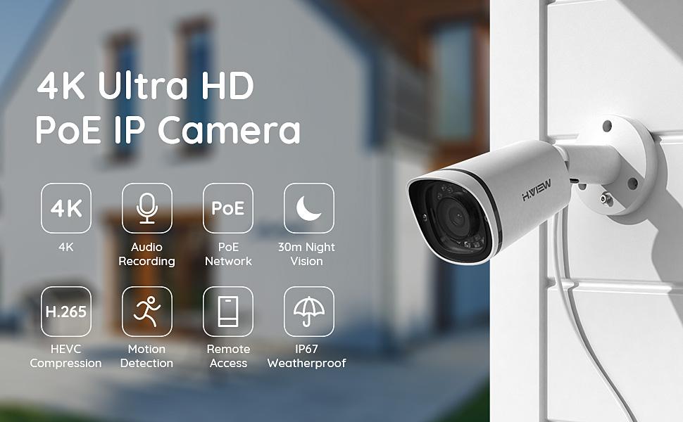 4K POE Camera
