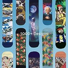 over 1000 designs