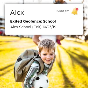 Geofencing set ups and alerts
