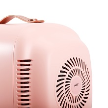 Jade roller, sheet mask, skin care fridge, mini fridge skincare, mini fridge pink