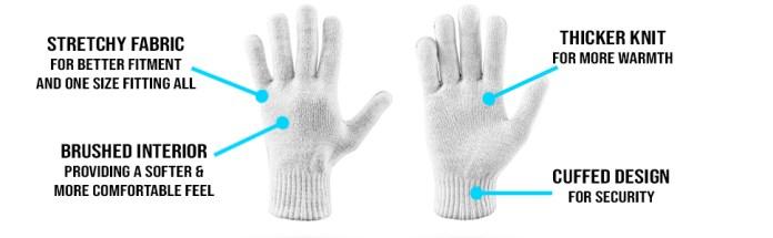 bulk winter magic gloves for men & women