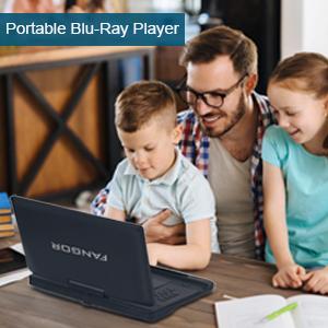 Portable bluray player