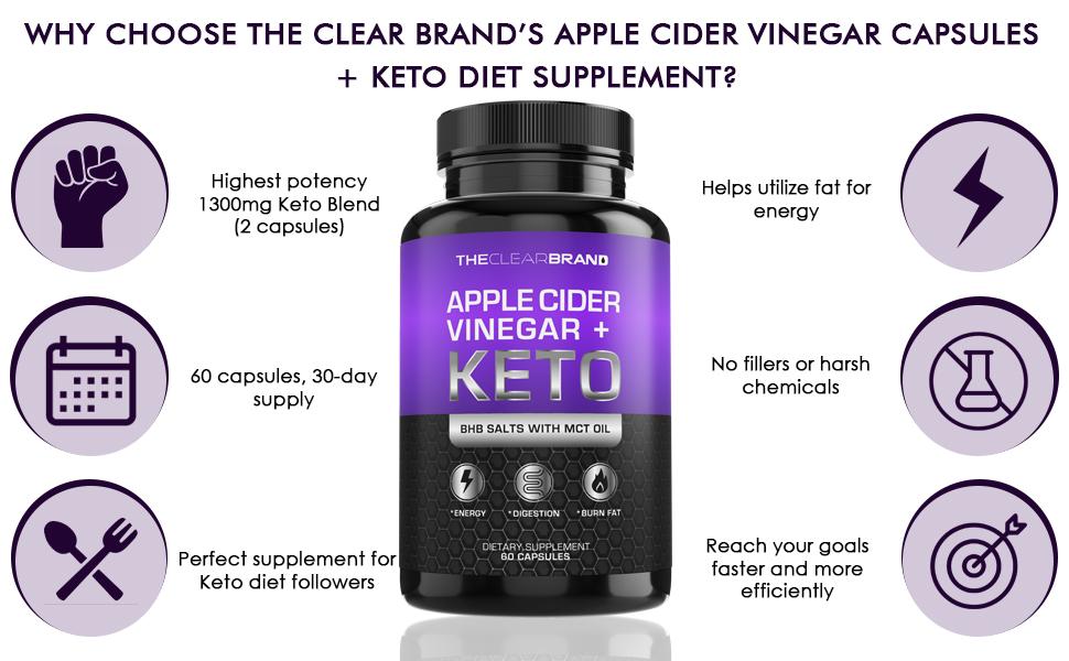 : Keto pills with apple cider vinegar is highest potency
