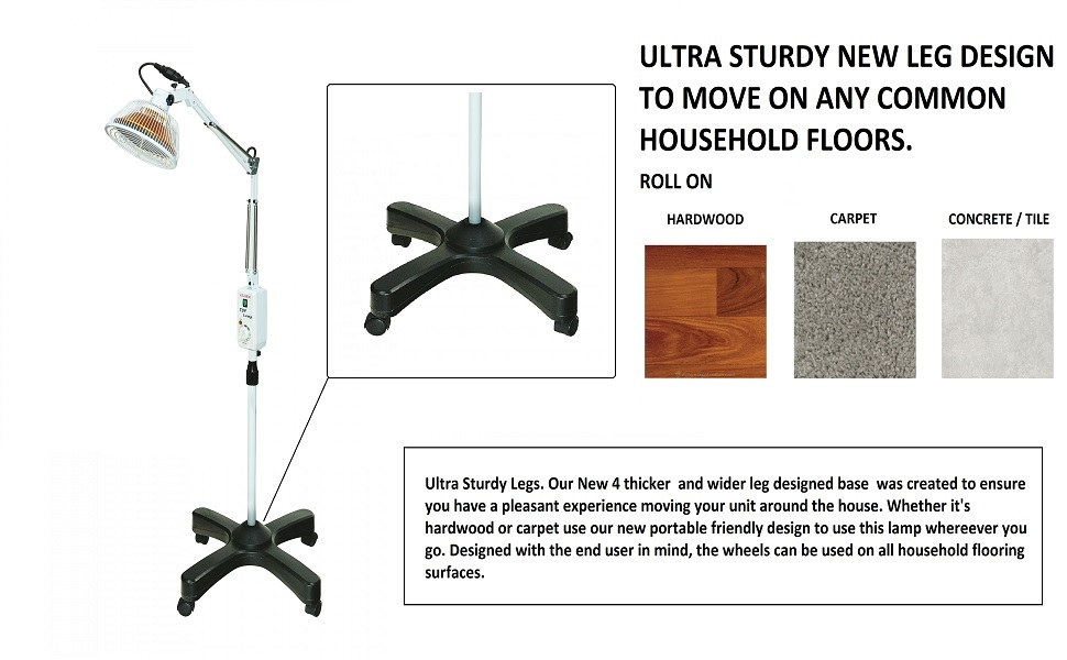 NEW ULTRA STURDY LEG DESIGN