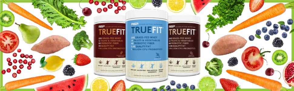 truefit protein powder meal replacement shake for weight loss