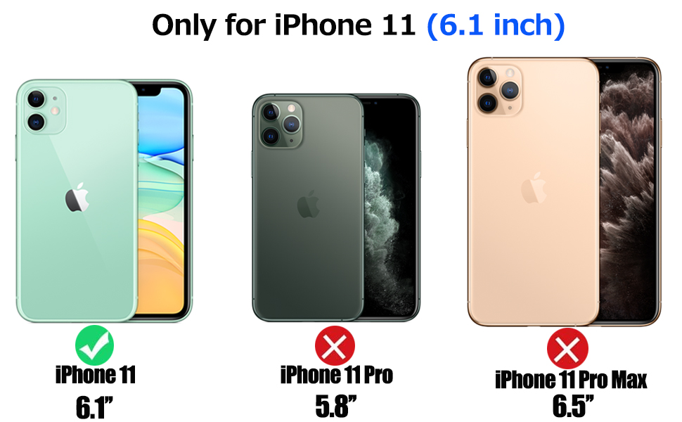 Only for iphone 11 6.1 inch
