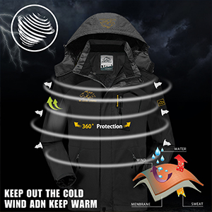 mens ski jacket winter coats for men mens winter jacket waterproof mens winter jackets