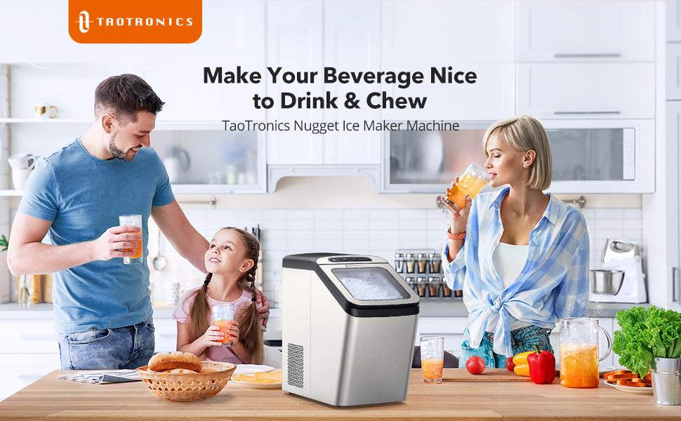 TaoTronics Nugget Ice Maker Machine