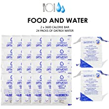 Emergency food and water