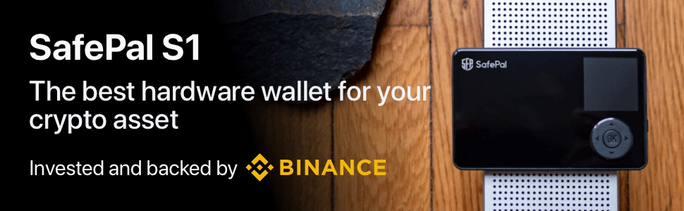 SafePal hardware wallet invested and backed by Binance