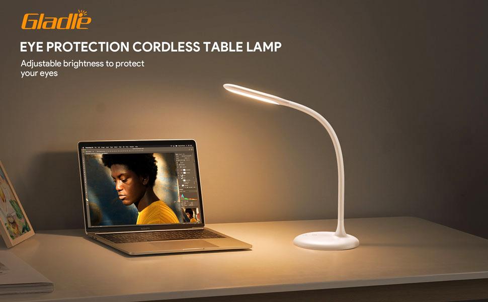 White Desk Lamp LED