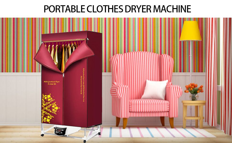 the upgrade clothes dryer can help you solve all dry clothes problem