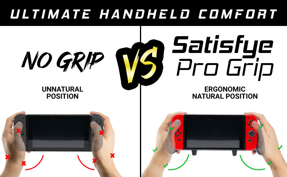 ergonomic natural hand position