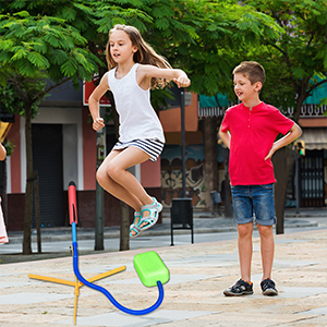 TOP TOY Stomp Foam Rocket for Kids 8-12 Outdoor Toys for 4-12 Year Old Boys Girls
