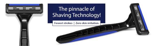 LetsShave Dorco Pace 2 disposable razor men 2 blades pack of 5
