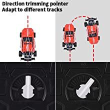 Direction Trimming Pointer And Shock Absorber