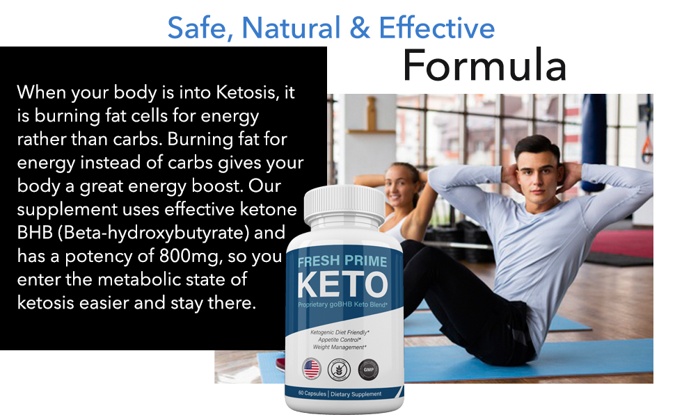 fresh prime keto diet pills weight loss formula shark tank capsules bhb ketones fat burn pill lose