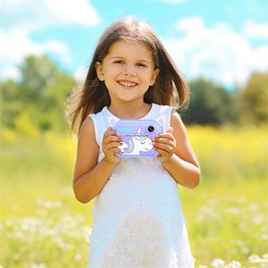 Print Camera for Kids Girls