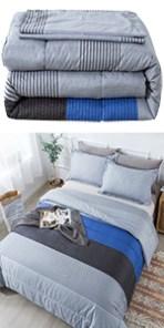 Stripe Comforter Set