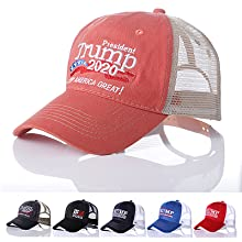 trump mesh hat