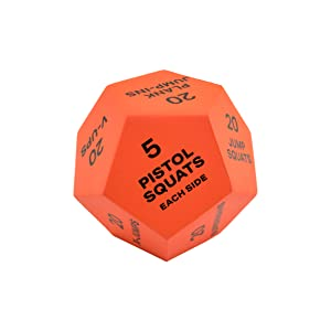 Red Workout Dice - Advanced
